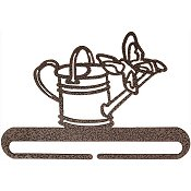 "Fabric Holder - 6"" Watering Can (Copper) THUMBNAIL"