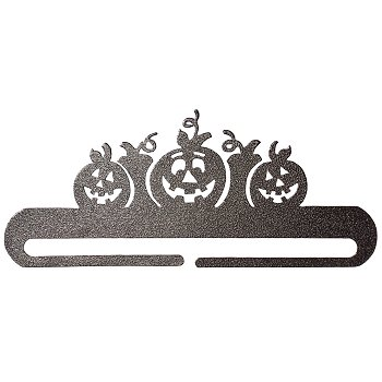 "Fabric Holder - 9"" Split Pumpkin (Charcoal)_THUMBNAIL"