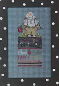 Amy Bruecken Designs - Monthly Snow People Series - Bubba September Sampler