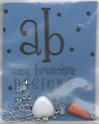 Amy Bruecken Designs - Monthly Snow People Series - Lilybell April Sampler Embellishment Pack