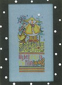 Amy Bruecken Designs - Monthly Snow People Series - Lilybell April Sampler