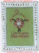 Amy Bruecken Designs - Baby Talk I Love You This Much