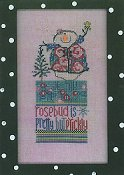 Amy Bruecken Designs - Monthly Snow People Series - Rosebud May Sampler