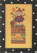 Amy Bruecken Designs - Monthly Snow People Series - Robin Beth June Sampler