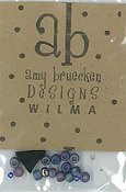 Amy Bruecken Designs - Wilma Witch Embellishment Pack