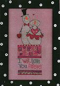 Amy Bruecken Designs - Monthly Snow People Series - Forever February Sampler