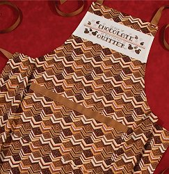 Chocolate Cake Apron - Includes Chart!