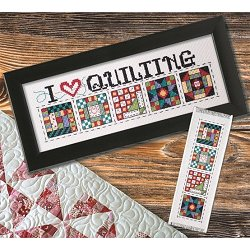 Custom Frame - I Love Quilting THUMBNAIL