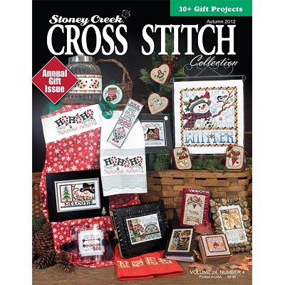 Cover photo of Autumn 2012 Stoney Creek Cross Stitch Collection magazine