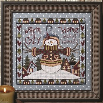 Custom Frame - Warm & Cozy Snowman