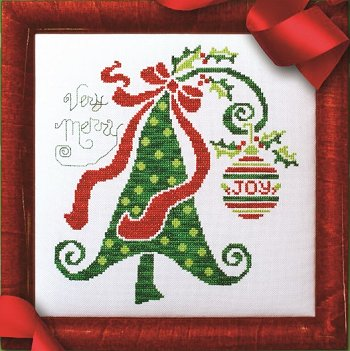 Custom Frame - Very Merry Tree