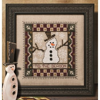 Custom Frame - 'Tis the Season Snowman