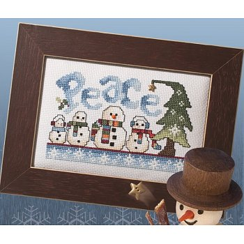 Custom Frame - Peaceful Snowman THUMBNAIL