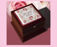Personalized Rose Box