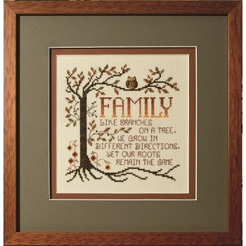 Custom Frame - Family Roots