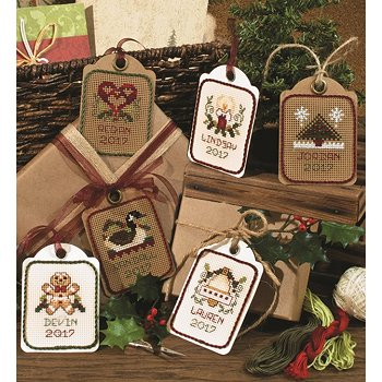 Ivory Artist Trading Tags, Package of 6