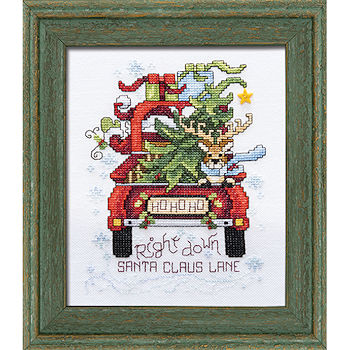 Custom Frame - Santa Claus Lane THUMBNAIL