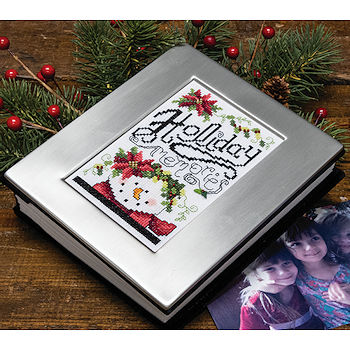 Brushed Pewter Photo Album