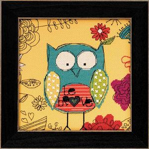 AmyLee Weeks by Mill Hill - Owl Series - Bee Brave MAIN