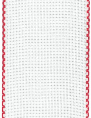 "Stitch Band 16ct Red/White 4"" Width - 12"" Cut_THUMBNAIL"