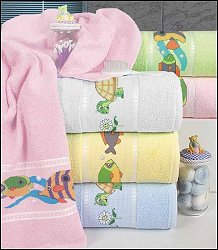 Baby Bath Towel by Dohler