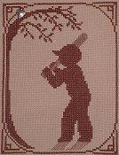 Handblessings - Summer Silhouette - Baseball Player