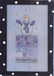 Amy Bruecken Designs - Monthly Snow People Series - Billy Bob January Sampler Embellishment Pack