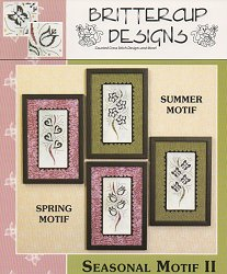 Brittercup Designs - Seasonal Motif II