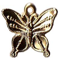 Charm Gold Butterfly