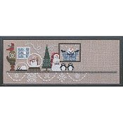 Bent Creek - Snowglobe Mantle - Penguin Penguin Penguin