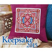 Cross Stitch & Needlework Keepsake Calendar 2015 THUMBNAIL
