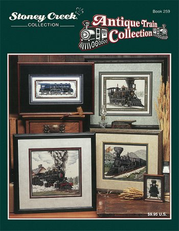 Book 259 Antique Train Collection MAIN