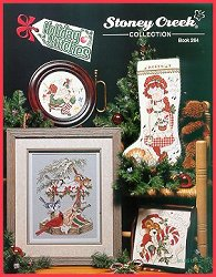 Cover photo of Stoney Creek Book 264 Holiday Stitches Christmas cross stitch designs