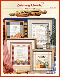 Cover photo of Stoney Creek Book 266 Kitchen Stitchin' cross stitch designs for the kitchen