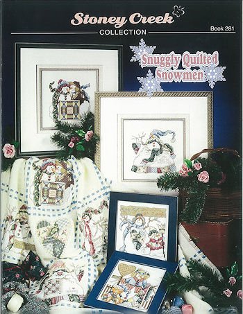 Book 281 Snuggly Quilted Snowmen MAIN
