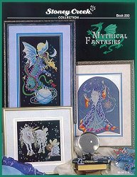 Cover photo of Stoney Creek Book 292 Mythical Fantasies cross stitch patterns