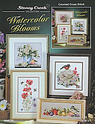 Book 355 Watercolor Blooms