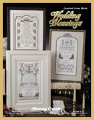 cover of Stoney Creek Cross Stitch Book 372 Marriage Blessings with wedding samplers_THUMBNAIL