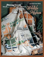Book 386 Wildlife Afghan THUMBNAIL