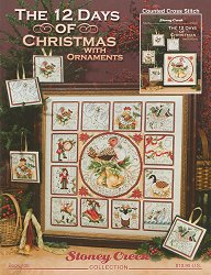 Book 408 The 12 Days of Christmas With Ornaments MAIN