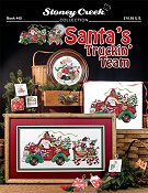 Book 440 Santa's Truckin' Team THUMBNAIL