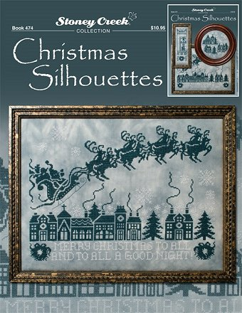 Book 474 Christmas Silhouettes MAIN