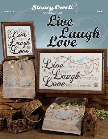 Book 475 Live Laugh Love MAIN