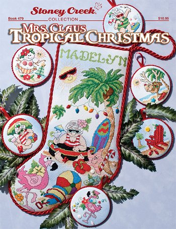 Book 479 Mrs. Claus Tropical Christmas MAIN