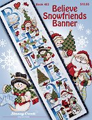 Book 483 Believe Snowfriends Banner