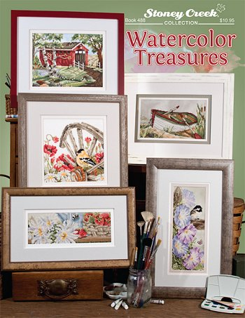 Book 488 Watercolor Treasures
