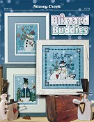 cover photo of Stoney Creek cross stitch Book 501 Blizzard Buddies THUMBNAIL
