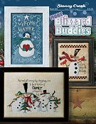 cover of Stoney Creek cross stitch book 504 More Blizzard Buddies THUMBNAIL