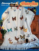 Book 510 Butterflies Collectors' Series Afghan THUMBNAIL