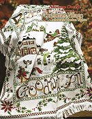Book 517 Christmas Village Afghan